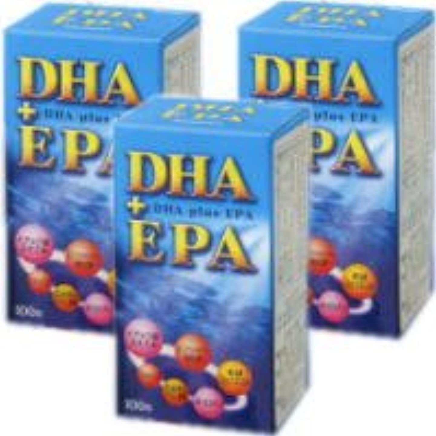 解決する散るペパーミントDHA+EPA 3個