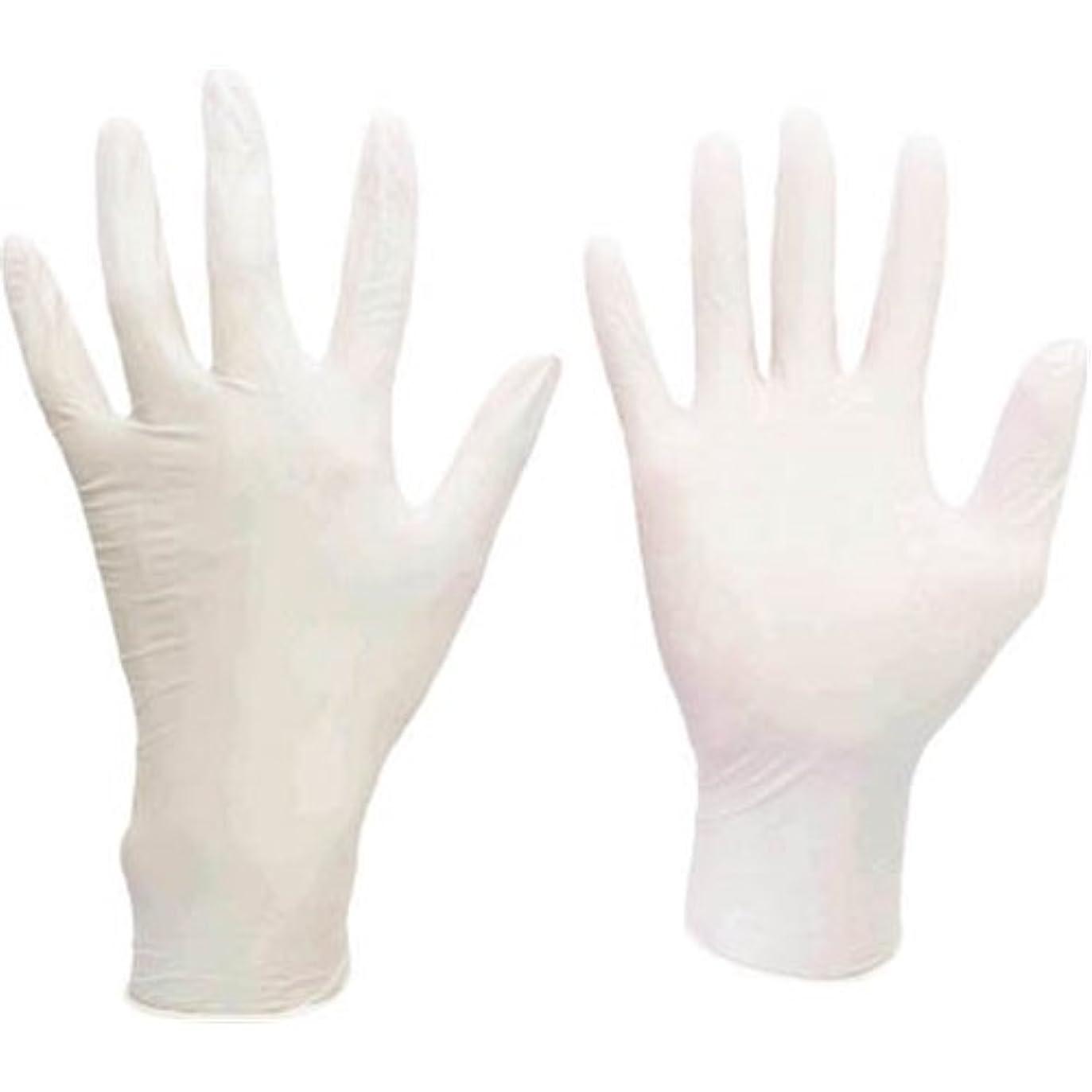第四優越鳴らすミドリ安全/ミドリ安全 ニトリル使い捨て手袋 極薄 粉なし 100枚入 白 L(3889068) VERTE-711-L