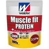 【ウイダー (WEIDER)】 マッスルフィットプロテイン ココア味(900g)