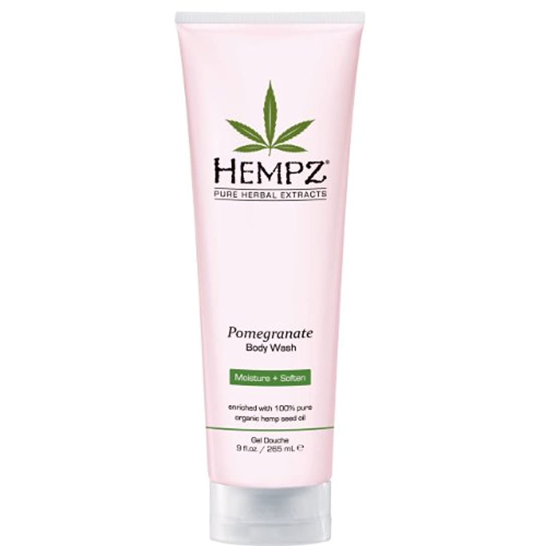 テロトロリー中by Hempz POMEGRANATE HERBAL BODY WASH 8.5 OZ by HEMPZ
