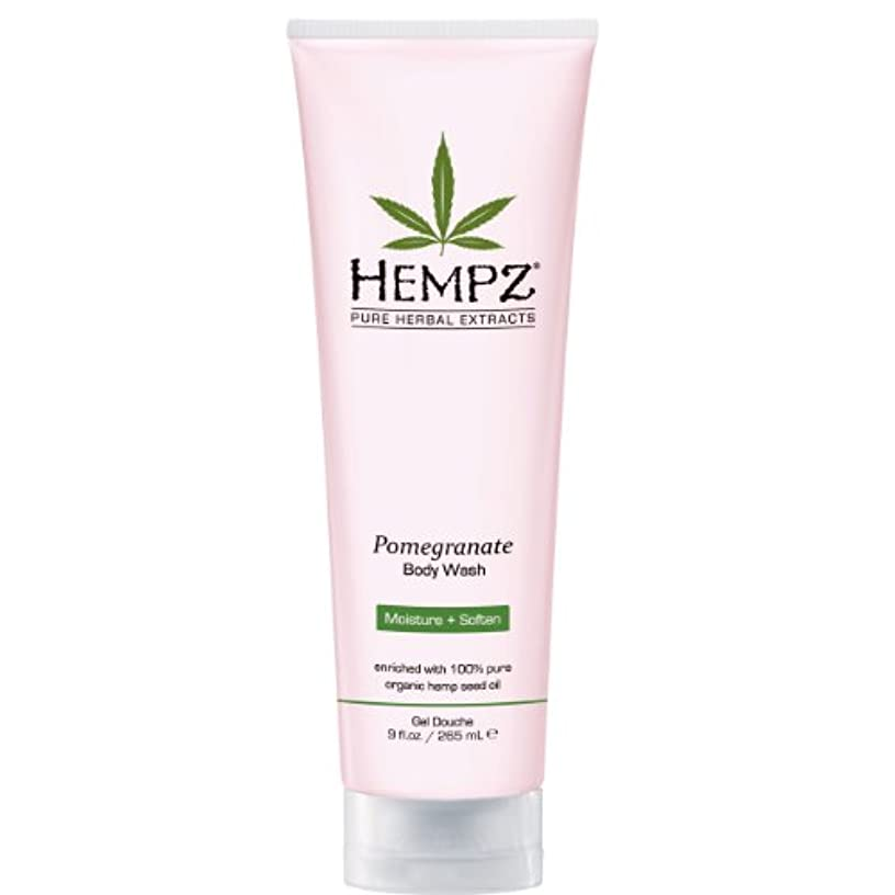 両方下品落ち込んでいるby Hempz POMEGRANATE HERBAL BODY WASH 8.5 OZ by HEMPZ