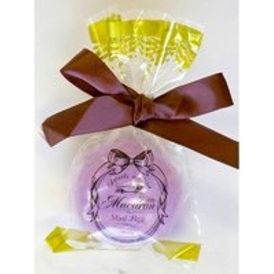 飾り羽ズームインするウィンクスウィーツメゾン プチマカロンフィズ「パープル」12個セット フルーティーなザクロの香り