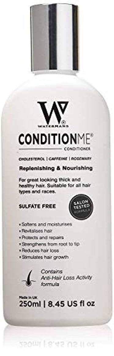 何かダイエットアライメント'Condition Me' Cholesterol Conditioner with Caffeine, Rosemary - All Types of Hair - Unisex Anti-Hair Loss Activity formula by Watermans Grow Me