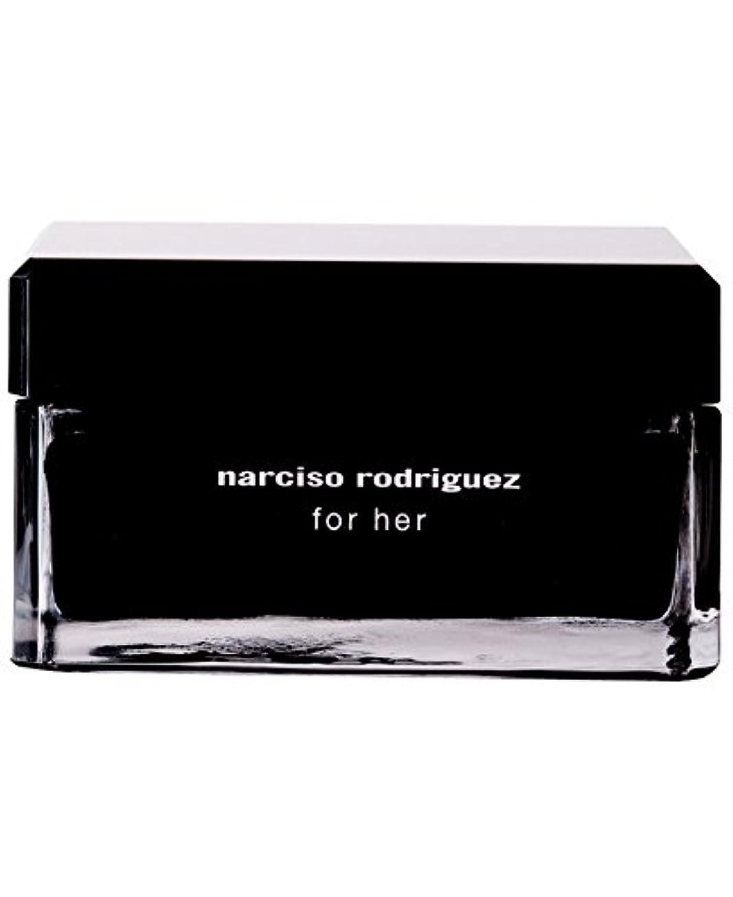 戸棚法廷商人Narciso Rodriguez (ナルシソ ロドリゲス) 5.2 oz (156ml) Body Cream ボディークリーム for Women