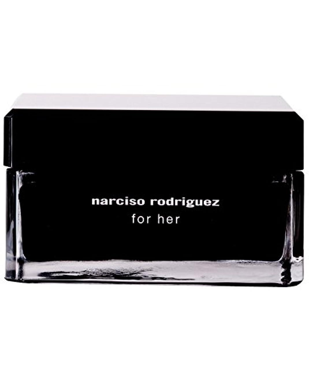 庭園回復歪めるNarciso Rodriguez (ナルシソ ロドリゲス) 5.2 oz (156ml) Body Cream ボディークリーム for Women