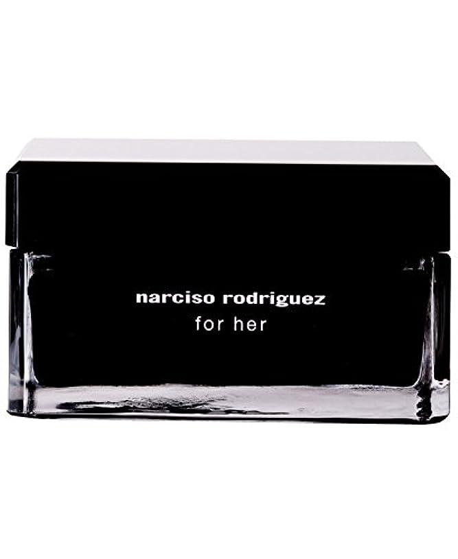 ミッション座る比較的Narciso Rodriguez (ナルシソ ロドリゲス) 5.2 oz (156ml) Body Cream ボディークリーム for Women