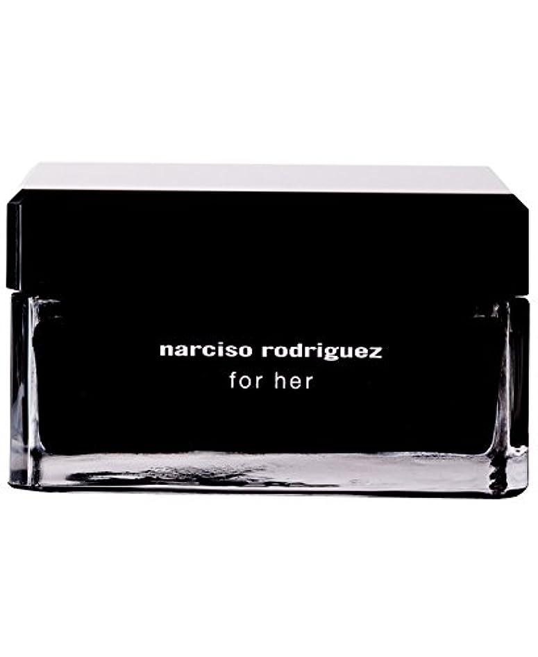 実施するオリエント債務者Narciso Rodriguez (ナルシソ ロドリゲス) 5.2 oz (156ml) Body Cream ボディークリーム for Women