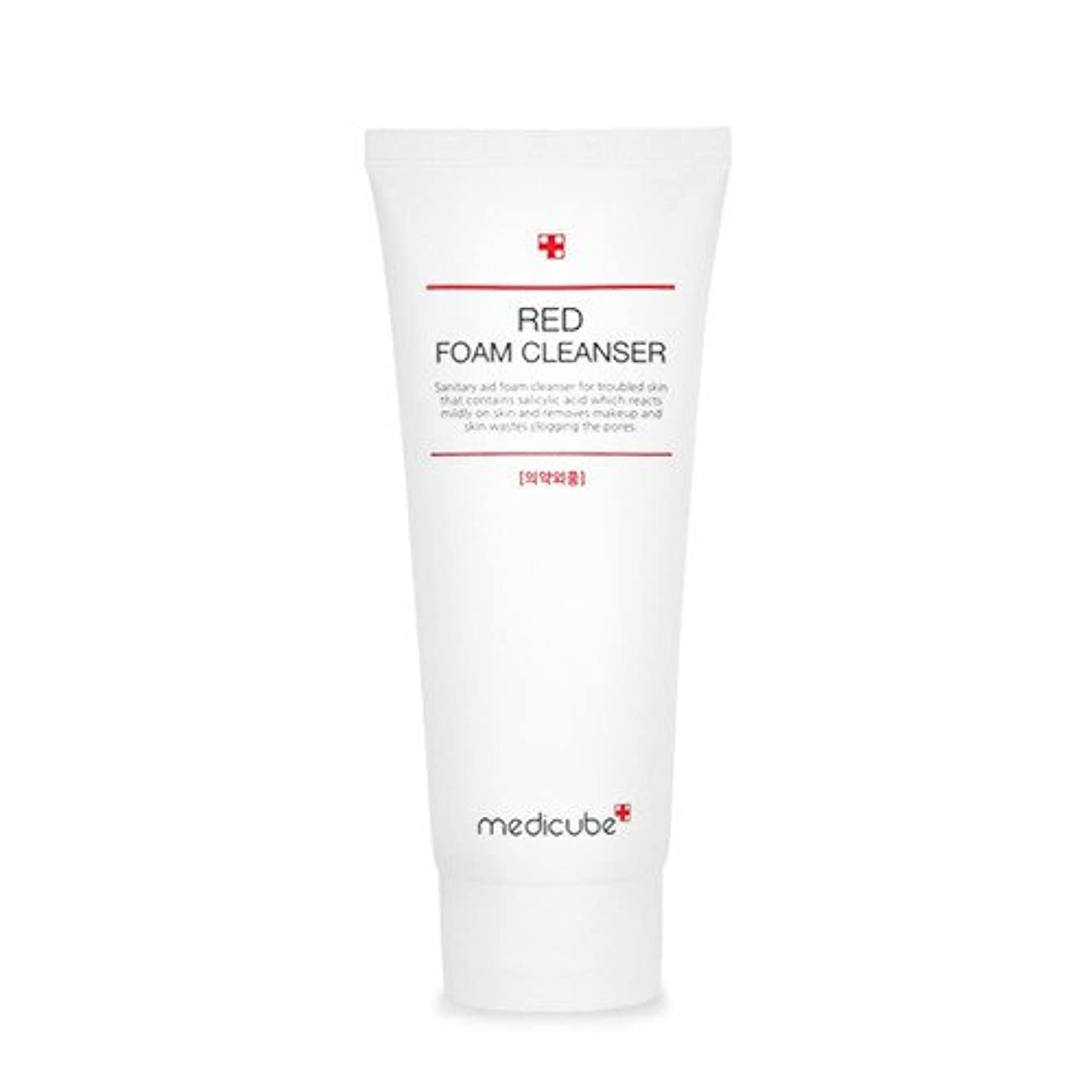 反論者飼料放棄された[Medicube]Red Foam Cleanser 120ml / メディキューブレッドクレンジングフォーム / 正品?海外直送商品 [並行輸入品]