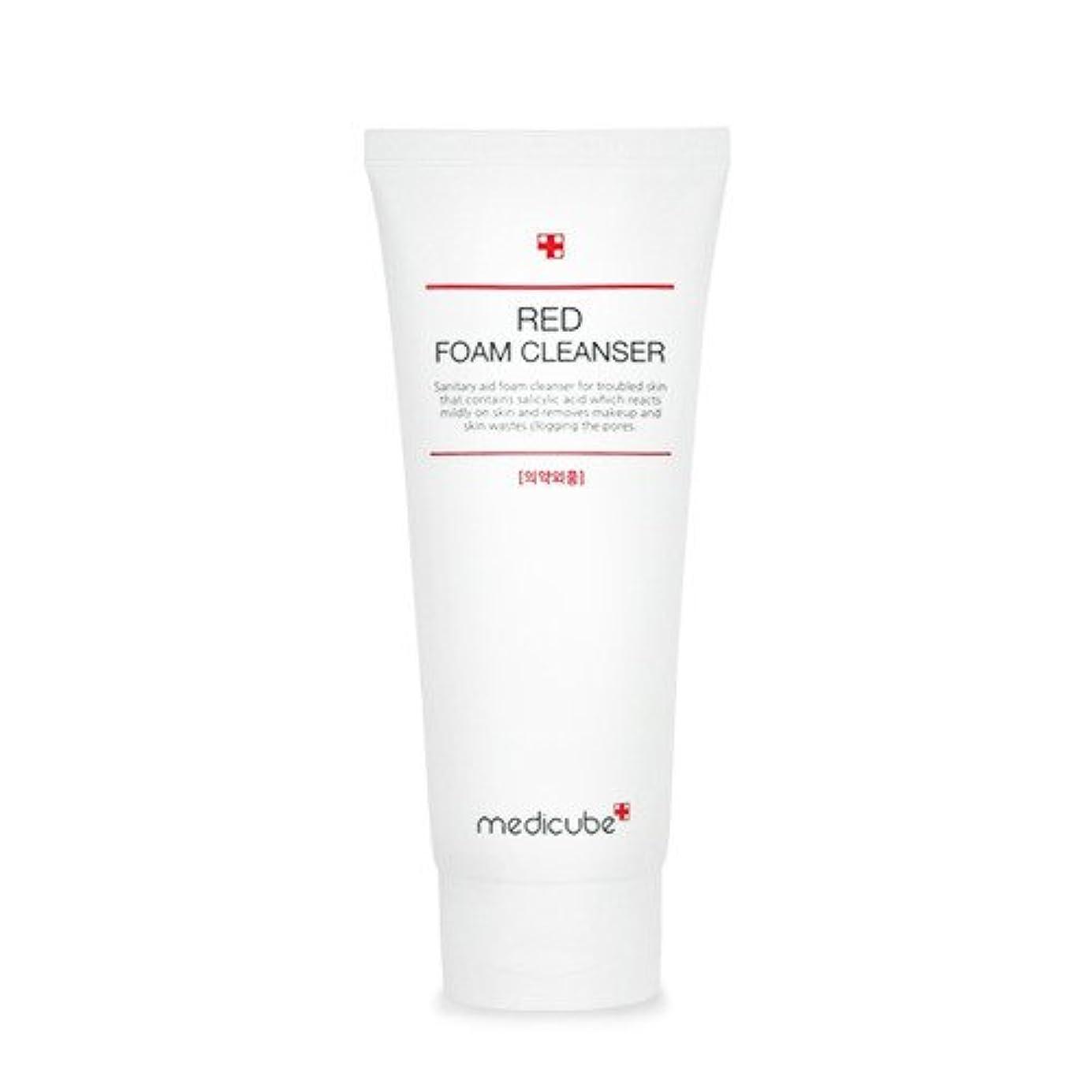 航空機靄検閲[Medicube]Red Foam Cleanser 120ml / メディキューブレッドクレンジングフォーム / 正品?海外直送商品 [並行輸入品]