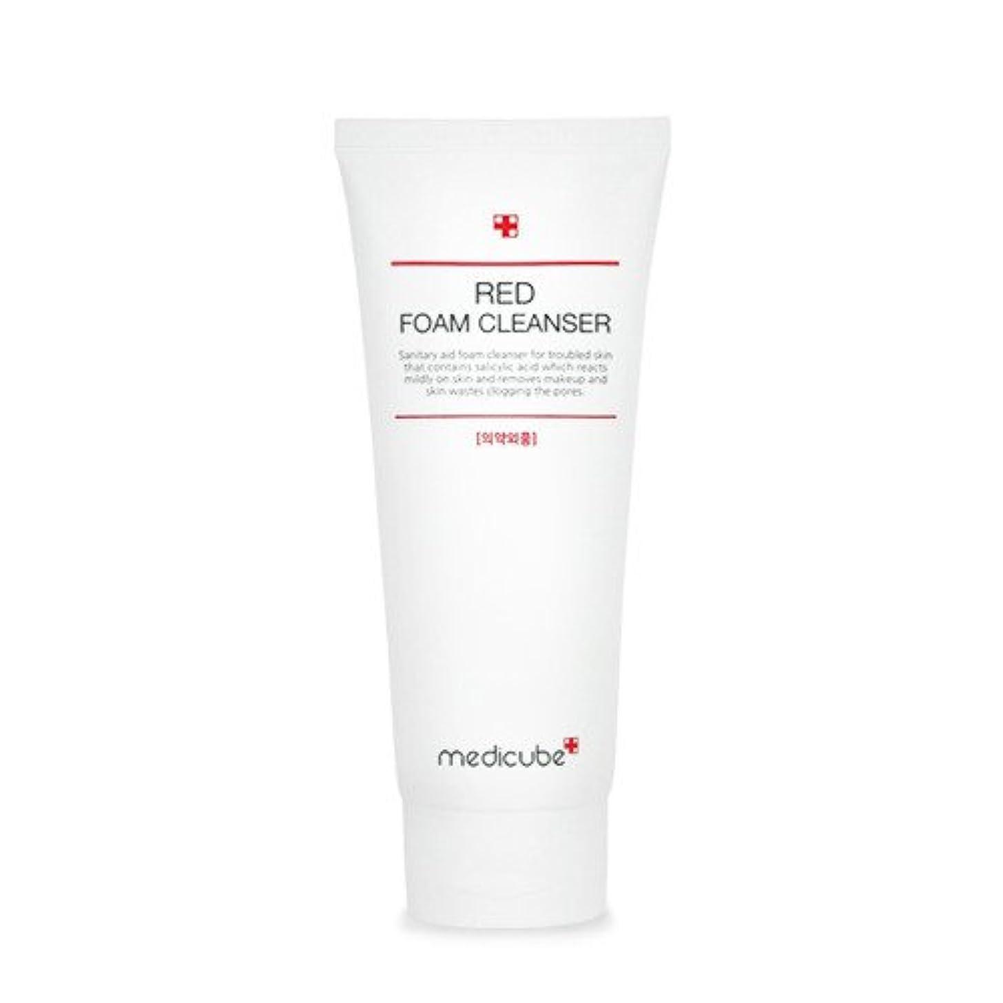 ページェントペデスタル旧正月[Medicube]Red Foam Cleanser 120ml / メディキューブレッドクレンジングフォーム / 正品?海外直送商品 [並行輸入品]