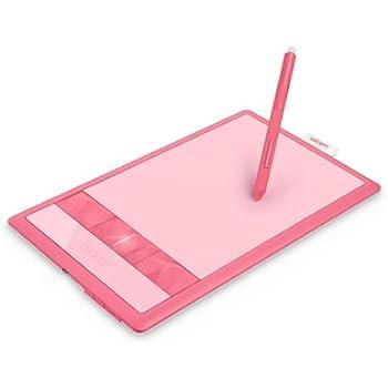 Wacom ペンタブレット Sサイズ ピンク フォトショップエレメンツ&ペインターエッセンシャル付属 Bamboo Fun CTH-470/P1