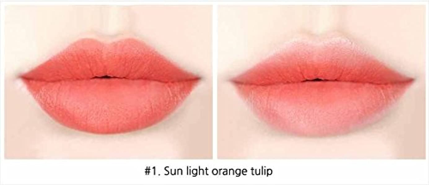 グリップ認証つらいイニスフリービビッドコットンインクティント4g Innisfree Vivid Cotton Ink Tint 4g [海外直送品][並行輸入品] (#1. Sun light orange tulips)