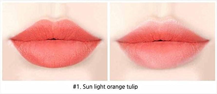 天窓クライストチャーチ指令イニスフリービビッドコットンインクティント4g Innisfree Vivid Cotton Ink Tint 4g [海外直送品][並行輸入品] (#1. Sun light orange tulips)
