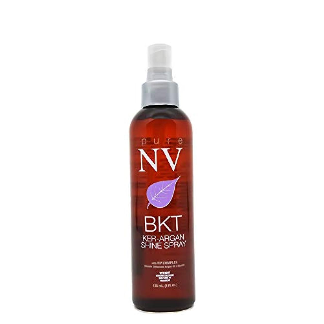 撤回するサロンシャットPure NV BKT KER-アルガンシャインスプレー - 4オンス 4オンス