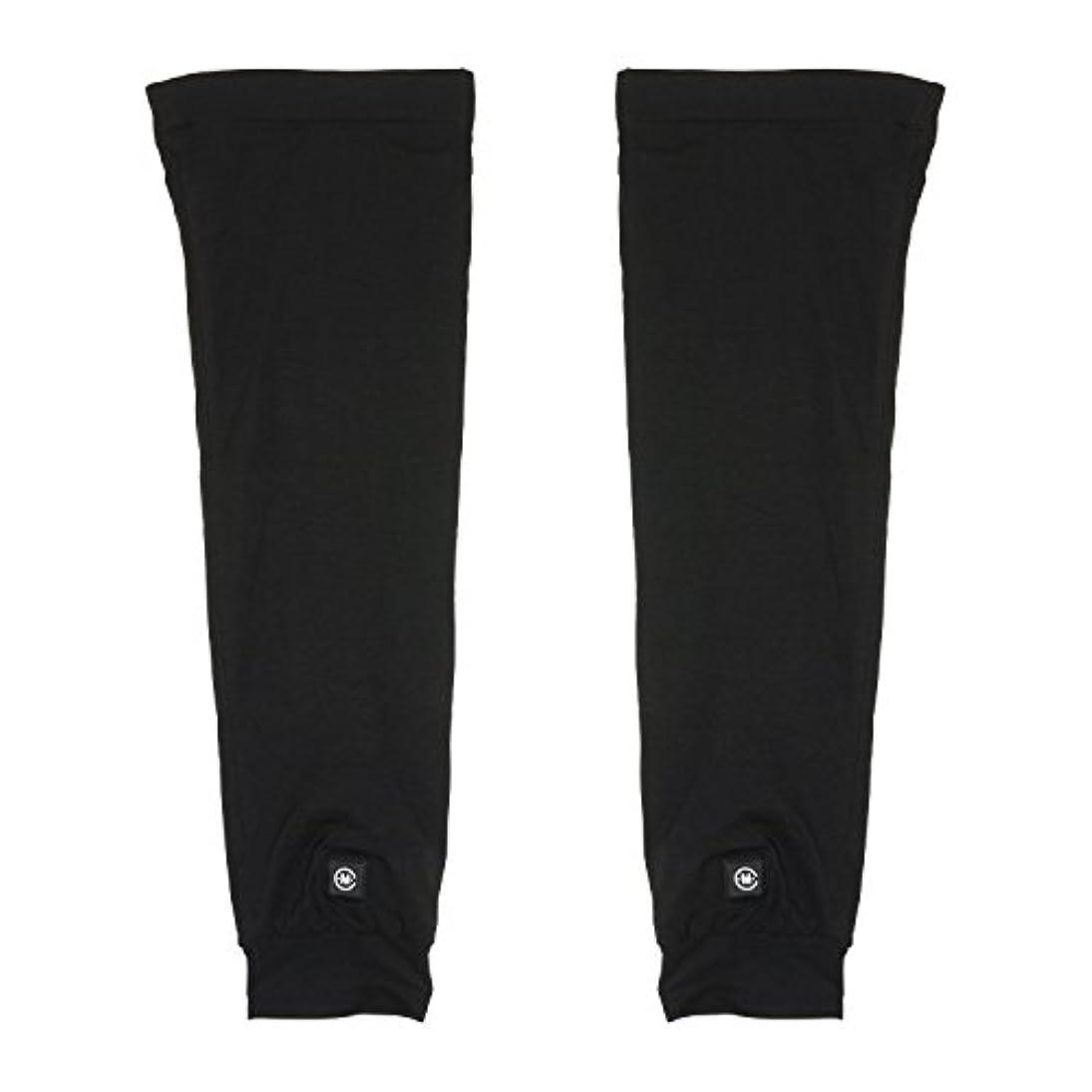膨らみの間に固めるめちゃヒート 脚を温める 充電式電熱 レッグウォーマー [男女兼用 フリーサイズ 連続4時間使用] 防寒 保温 冷え性 冷え症 対策 バッテリー駆動 メンズ レディース