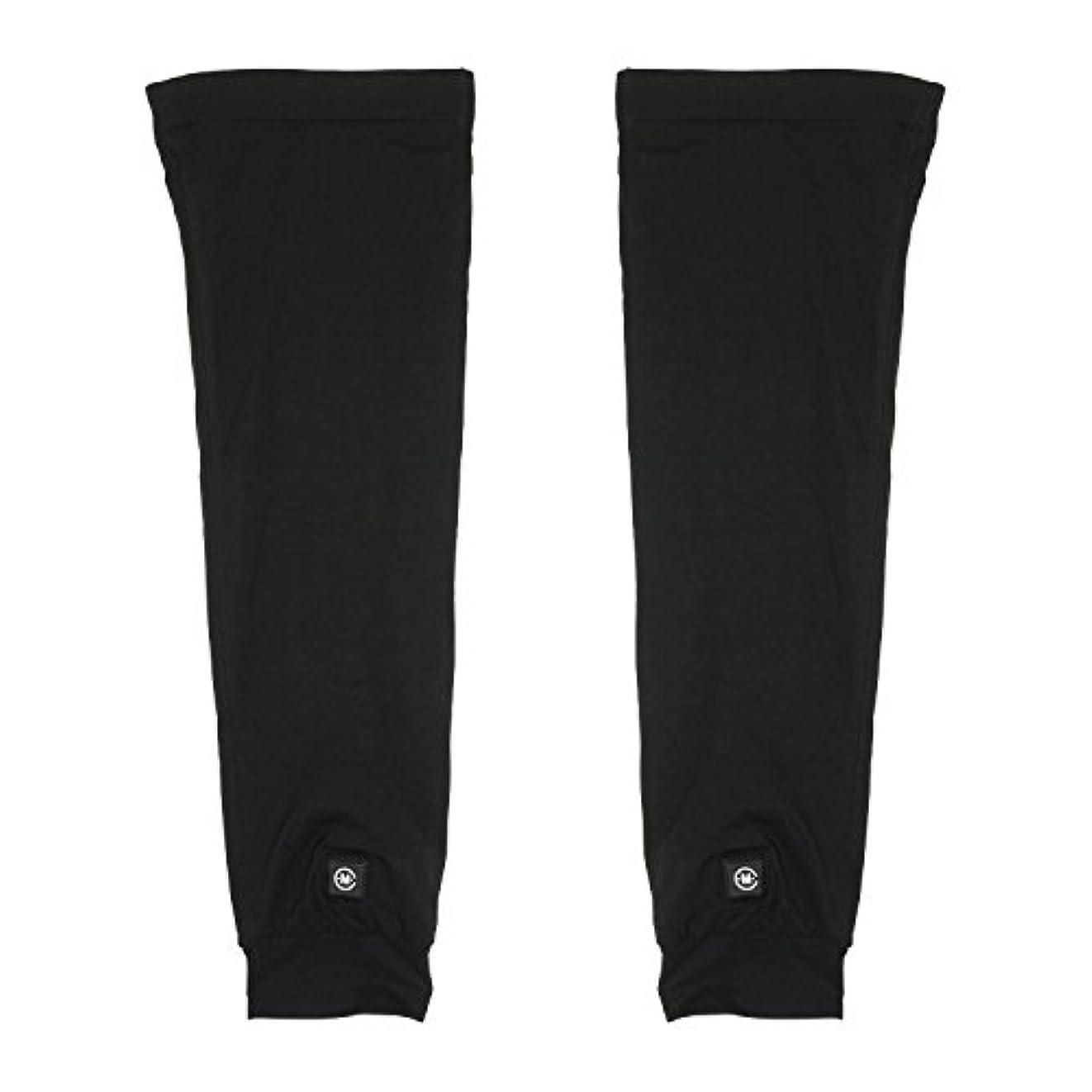 芝生緊張アルカイックめちゃヒート 脚を温める 充電式電熱 レッグウォーマー [男女兼用 フリーサイズ 連続4時間使用] 防寒 保温 冷え性 冷え症 対策 バッテリー駆動 メンズ レディース