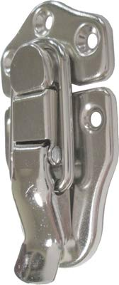 Nickel Finish Medium Toggle Trunk Drawbolt Closure Clasp Latch   Lock for Chest Suitcase, Jewelry Box, Steamer Trunk & Other Antique or Modern Furniture   N-3924 (6)