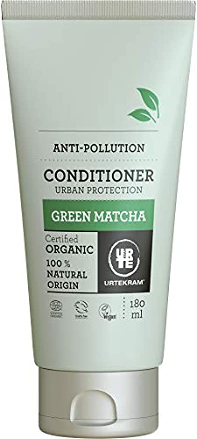 奇跡寝室スプーンUrtekram Green Matchaコンディショナーオーガニック、都市保護、180 ml