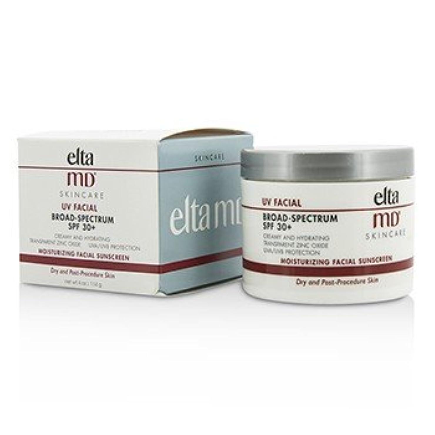 徒歩でかび臭い少数[EltaMD] UV Facial Moisturizing Facial Sunscreen SPF 30 - For Dry & Post Procedure Skin 114g/4oz