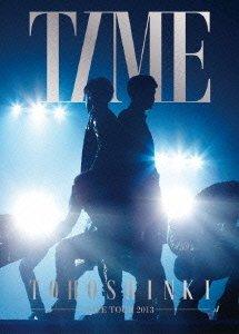 東方神起 LIVE TOUR 2013 ~TIME~ (初回生産限定盤) (特典ポスター無) (3枚組DVD)