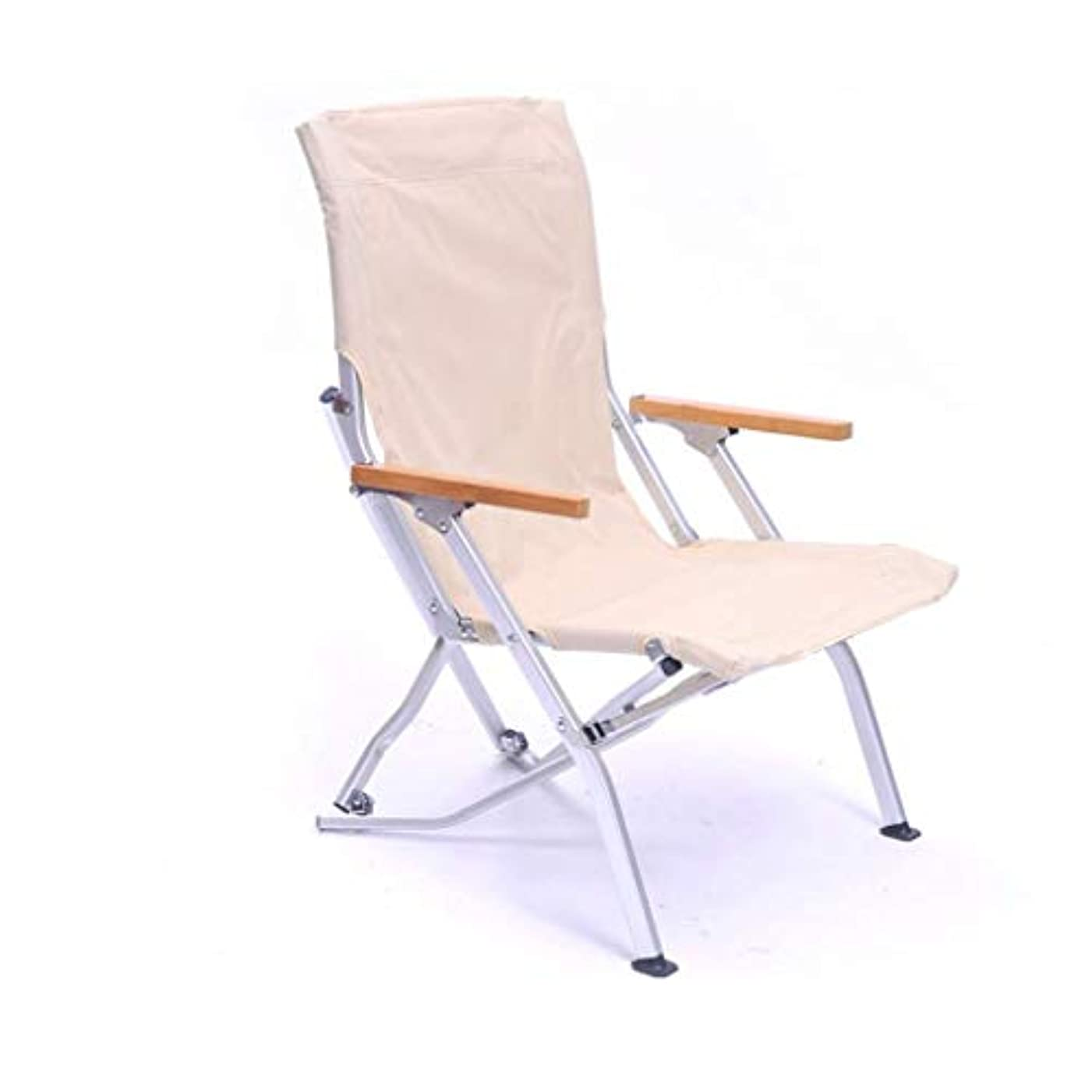 ブルジョンスペクトラムお手入れキャンプ折りたたみ椅子ハイバックポータブル用アームレスト付き屋外、芝生、庭、軽量アルミフレーム、サポート300ポンド,A