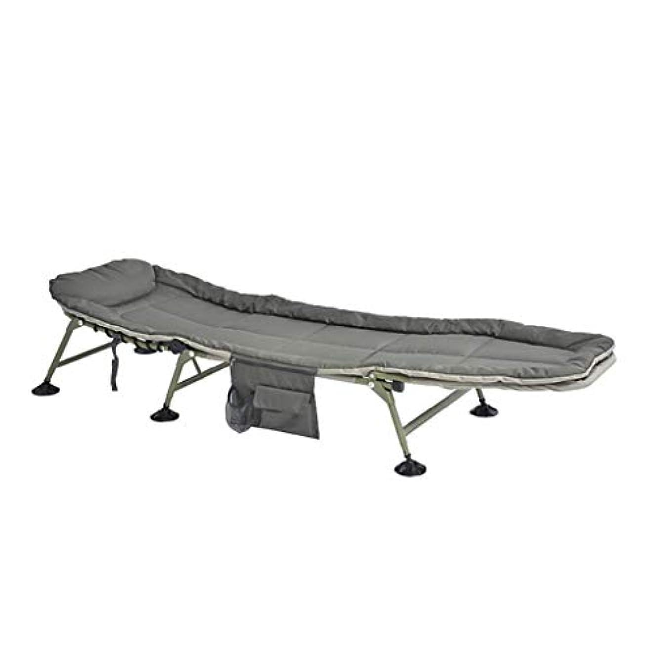 くつろぎ繊細に対して折りたたみ式ベッド、家のための軽量のラウンジチェア - オフィスの仮眠ベッド - 屋外旅行のための折り畳み式ベッド