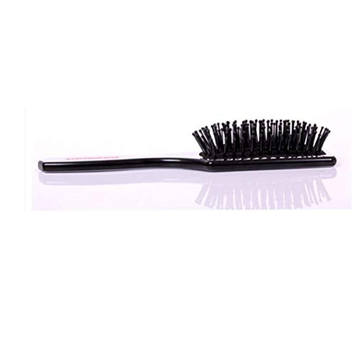 メタン苗引用Fashianヘアブラシマッサージ髪の毛と頭皮の熱と耐久性のある帯電防止スタイリングくしサイズL/S モデリングツール (サイズ : S)
