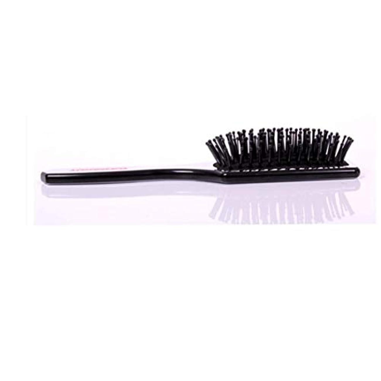 植木つぶす銀行Fashianヘアブラシマッサージ髪の毛と頭皮の熱と耐久性のある帯電防止スタイリングくしサイズL/S ヘアケア (サイズ : S)