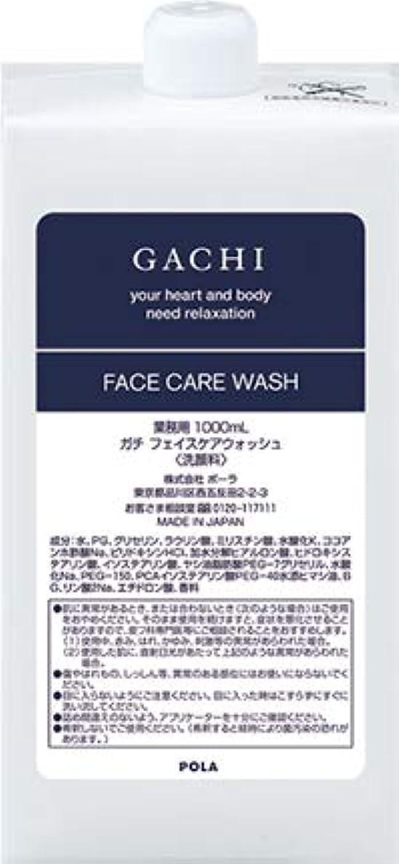 露出度の高い内向き眠いですポーラ POLA ガチ GACHI フェイスウォッシュ 洗顔料 詰め替え 1L