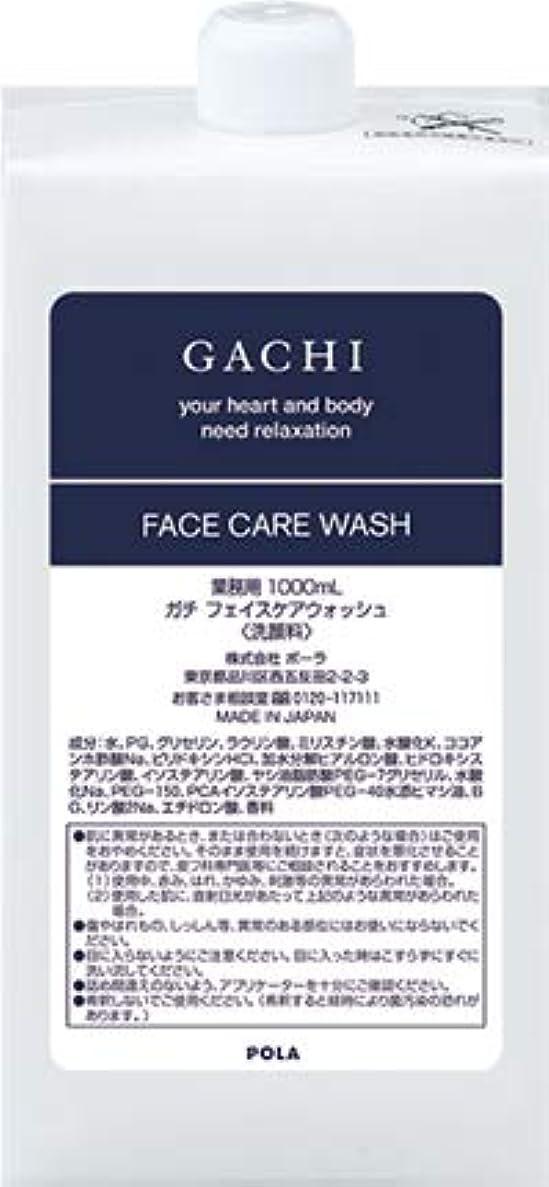ネイティブクリープ気性ポーラ POLA ガチ GACHI フェイスウォッシュ 洗顔料 詰め替え 1L