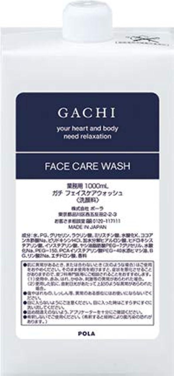 ペルー例示するペネロペポーラ POLA ガチ GACHI フェイスウォッシュ 洗顔料 詰め替え 1L