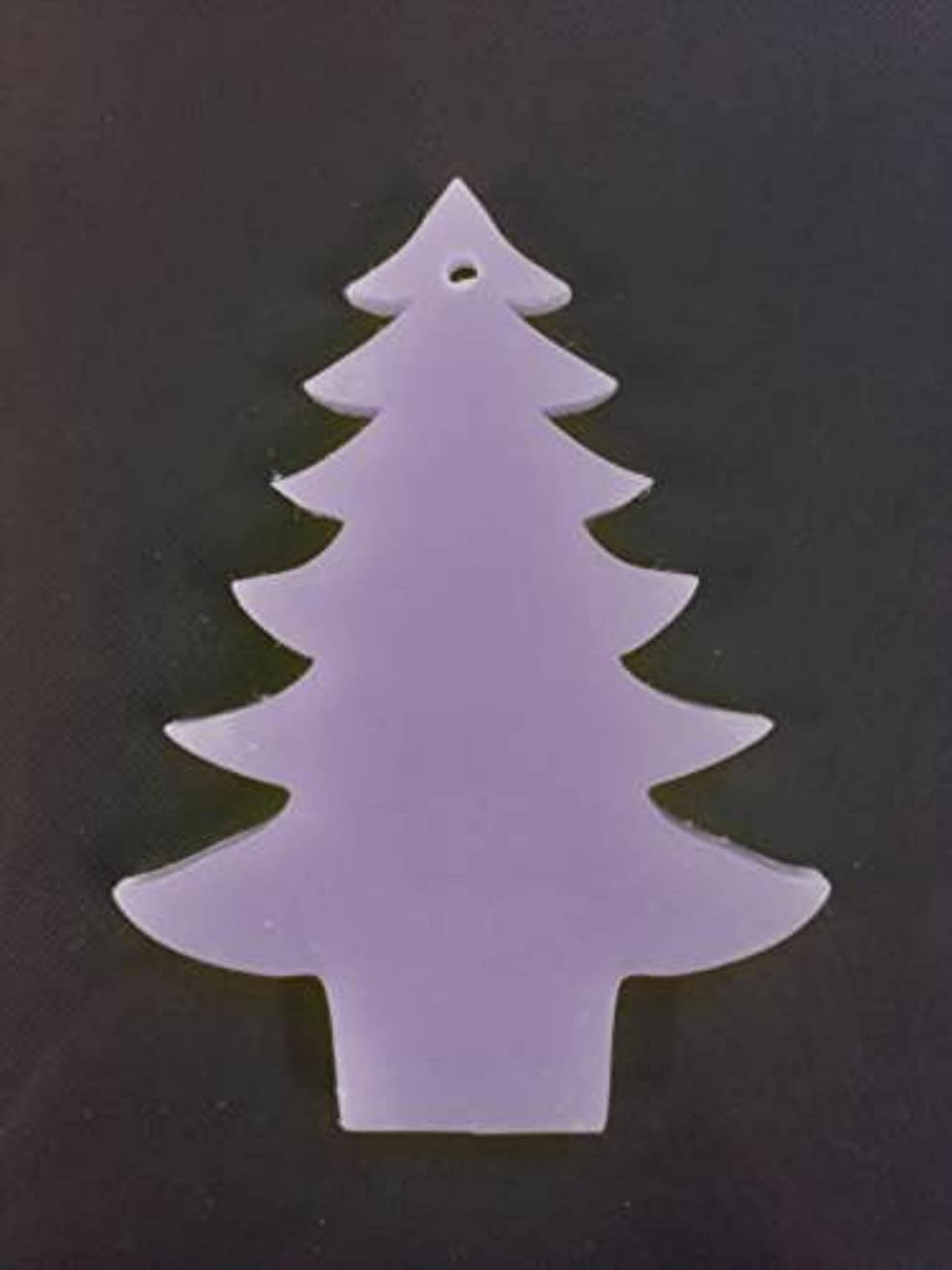 ピアース結び目研磨剤GRASSE TOKYO AROMATICWAXチャーム「ツリー」(PU) ラベンダー アロマティックワックス グラーストウキョウ