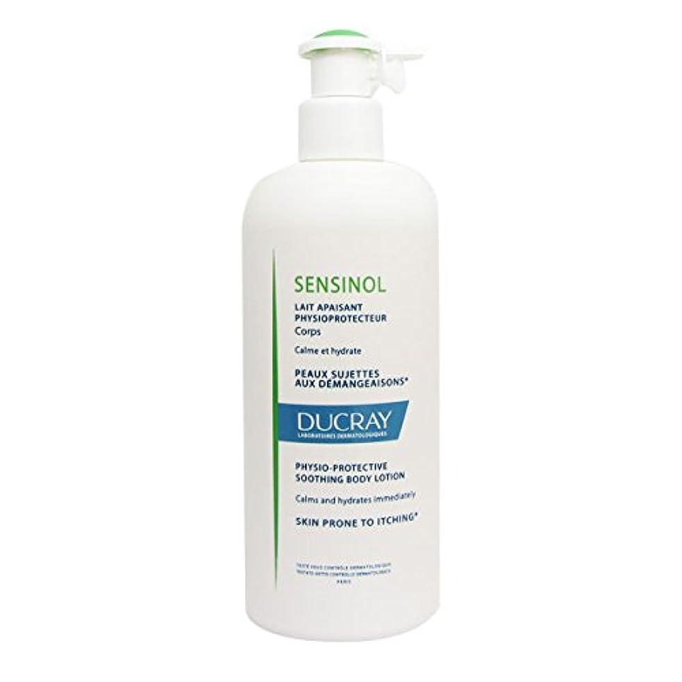 試験遺伝子電池Ducray Sensinol Soothing Body Milk 400ml [並行輸入品]