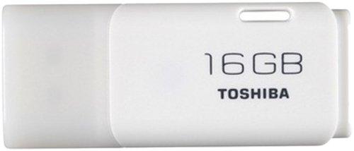 TOSHIBA 東芝 USBメモリー TransMemory USB2.0 Windows7/Mac対応 16GB 海外パッケージ品 UHYBS-016GH 並行輸入品