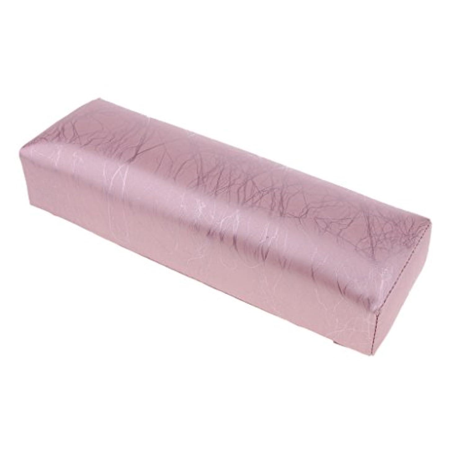 認知数満了ハンドピロー ネイルアートピロー アームレストクッション ネイルアート デザイン ハンドレスト 全4色 - ピンク
