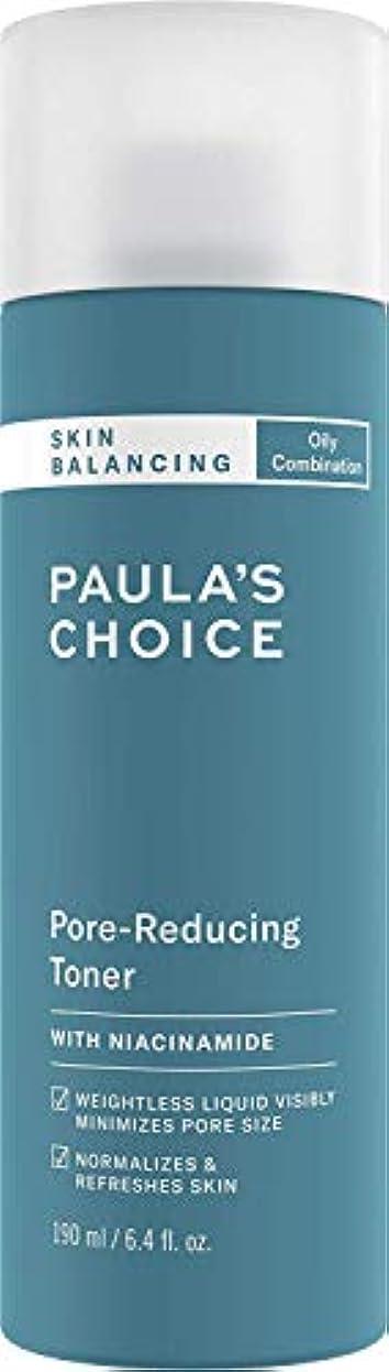 小さな原告アナニバーポーラチョイス スキンバランシングポアリデューシングトナー 190ml / Paula's Choice Skin Balancing Pore-Reducing Toner