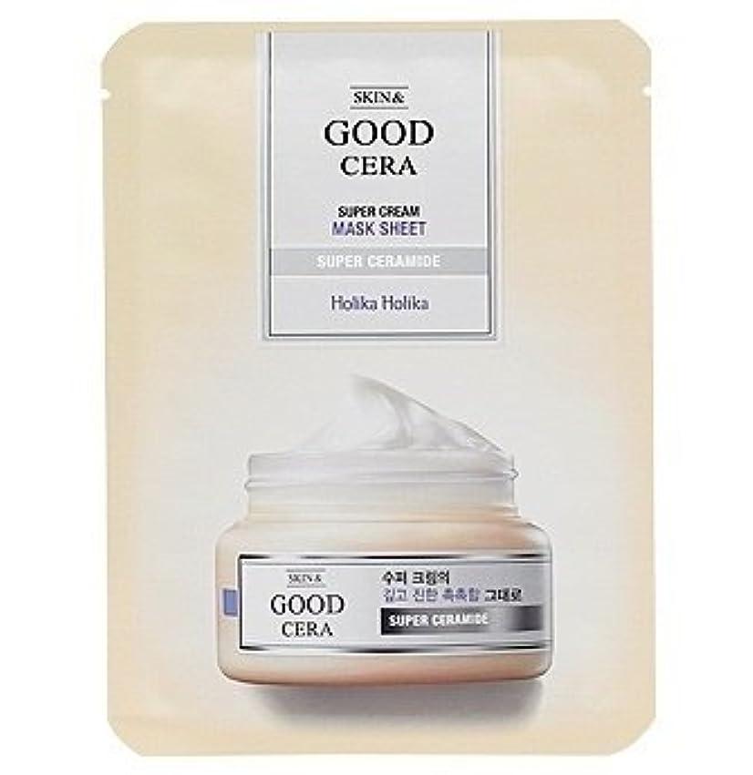 商品肉屋スケッチホリカホリカ グッドセラ スーパークリーム マスクシート(3枚)Holika Holika Good Cera Super Cream Mask Sheet(3EA) [並行輸入品]