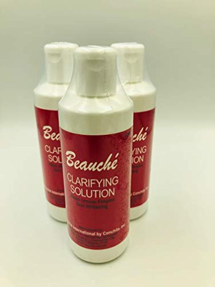成功した侵入発明するBeauche Clarifying Solution 120ml 【3pieces set Free Shipping Nationwide】フィリピン スキンローション120ml 3本セット