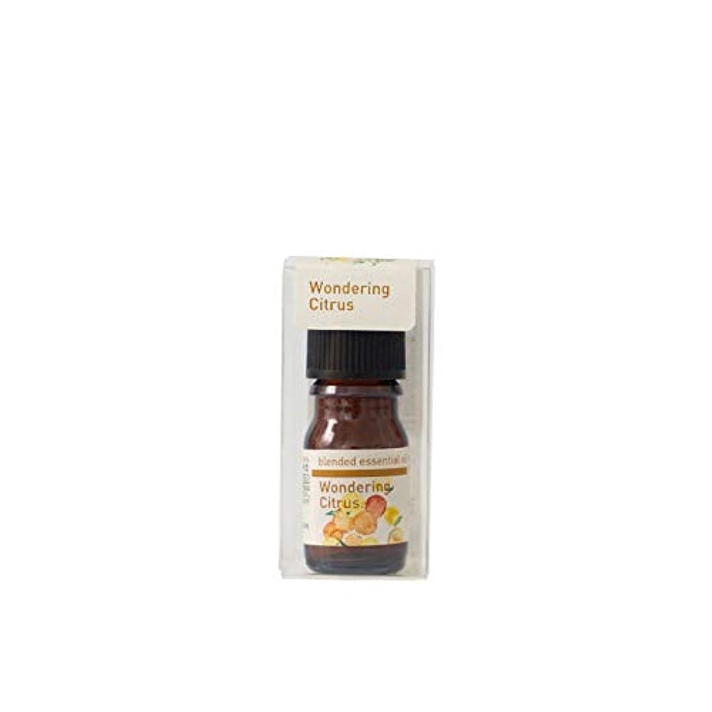 アレンジ適切に二年生生活の木 ブレンドエッセンシャルオイル ワンダリングシトラス 5ml