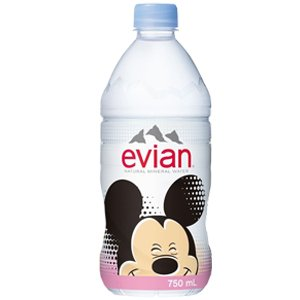 evian 750mlペットボトル×12本入×(2ケース)