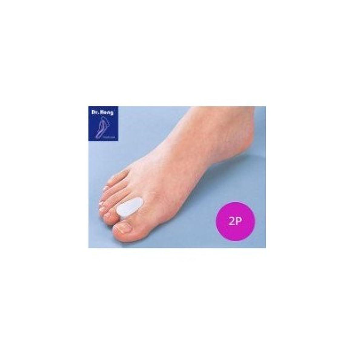 振動するほとんどの場合器具Dr.コング バイオジェル足指セパレーター 2P 114002 心地いいフィット感 痛みに合わせて選べるフットケア