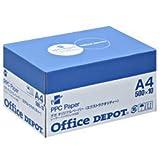 オフィス・デポ オリジナル エクストラクオリティー コピー用紙 A4(箱) 1箱(500枚×10冊) SKU:40464