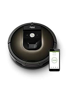 ルンバ980 アイロボット ロボット掃除機 Wi-Fi対応 マッピング 自動充電・自動再開 強い吸引力 R980060【Alexa対応】