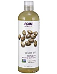 NOW Foods Castor Oil, Pure, 16 ounce (Pack of 2)
