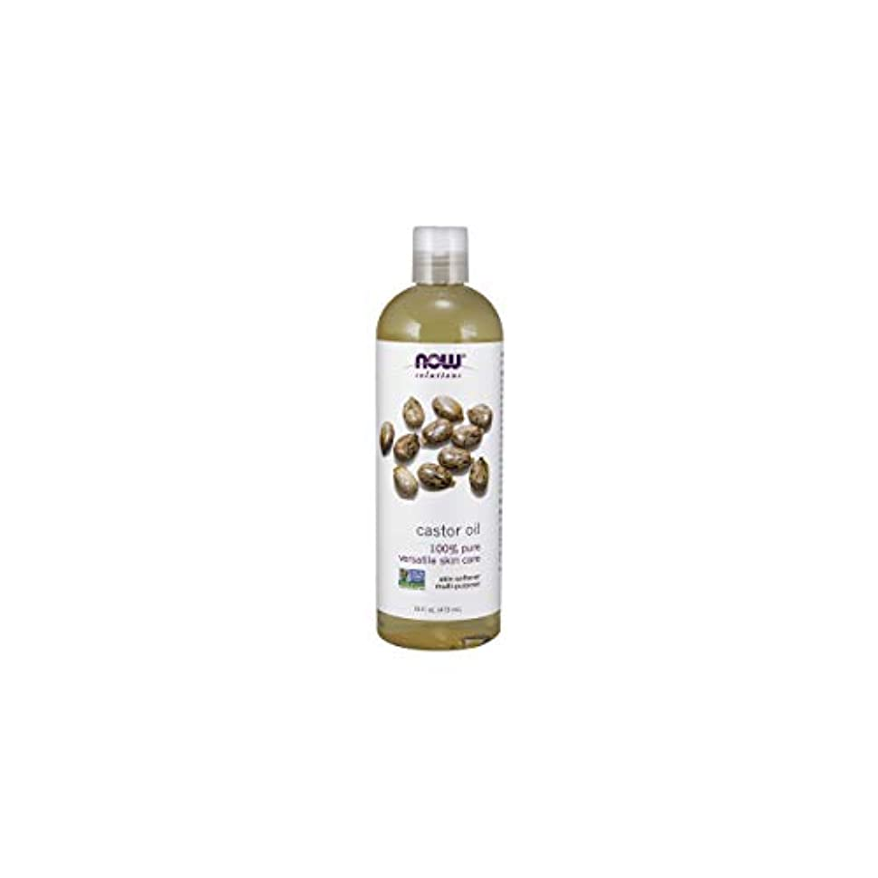 打ち負かす下手投資するNOW Foods Castor Oil, Pure, 16 ounce (Pack of 2)