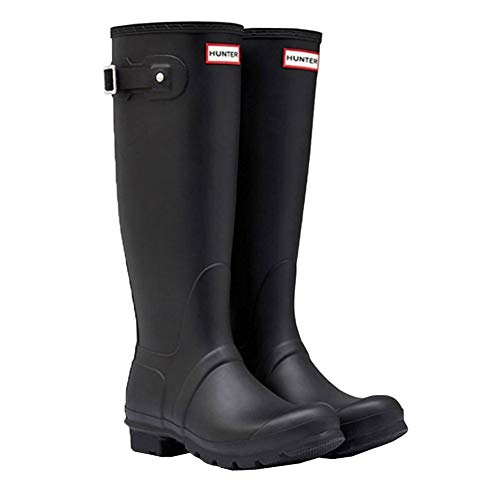 [ハンター] レインブーツ 長靴 ブーツ レディース WOMENS ORIGINAL TALL BOOT WFT1000RMA {ブラック UK4-23.0cm}(hnt002) [並行輸入品]