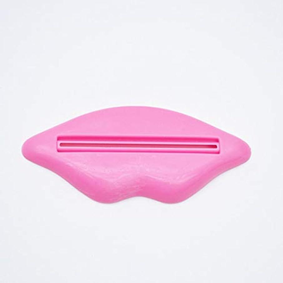 悪質な人差し指考慮Swiftgood 新しいリップシェイプチューブディスペンサー歯磨き粉フェイシャルフォームマイルドウォッシュスクイーザ