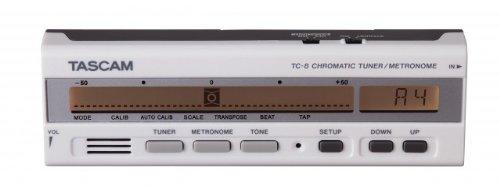 TASCAM クロマチックチューナー/メトロノーム TC-8