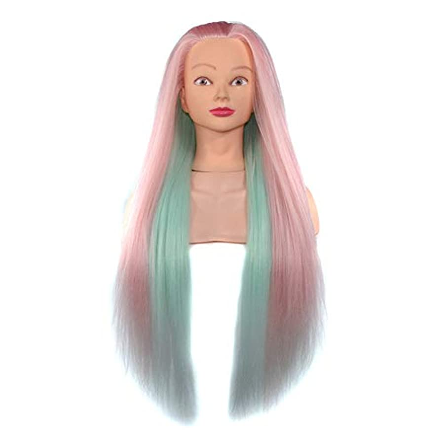 おっと田舎者またねヘアスタイリング練習ディスクヘア学習ヘッドモデル美容院高温ワイヤートレーニングヘッドマネキン人形ヘッド