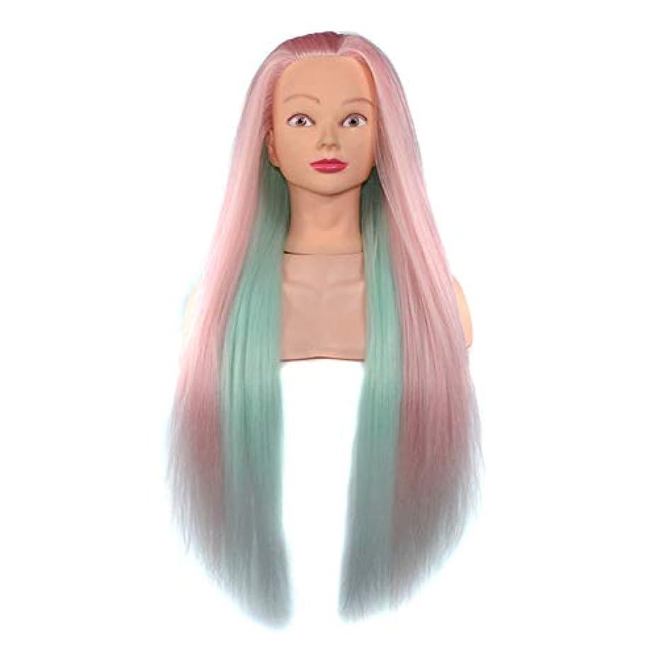 しゃがむ倍率父方のヘアスタイリング練習ディスクヘア学習ヘッドモデル美容院高温ワイヤートレーニングヘッドマネキン人形ヘッド